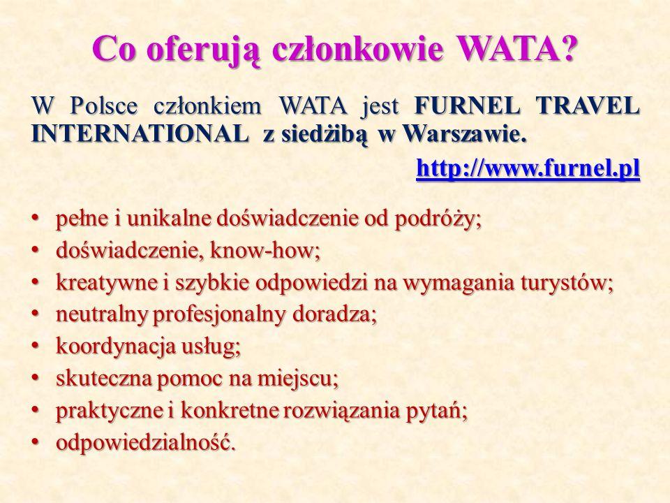 Co oferują członkowie WATA