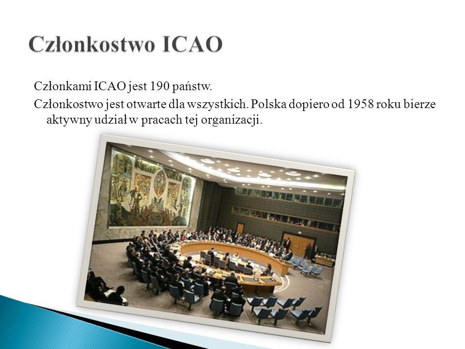 Członkostwo ICAO