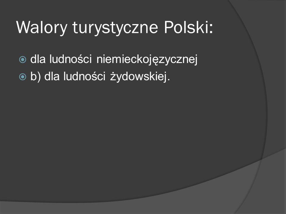 Walory turystyczne Polski: