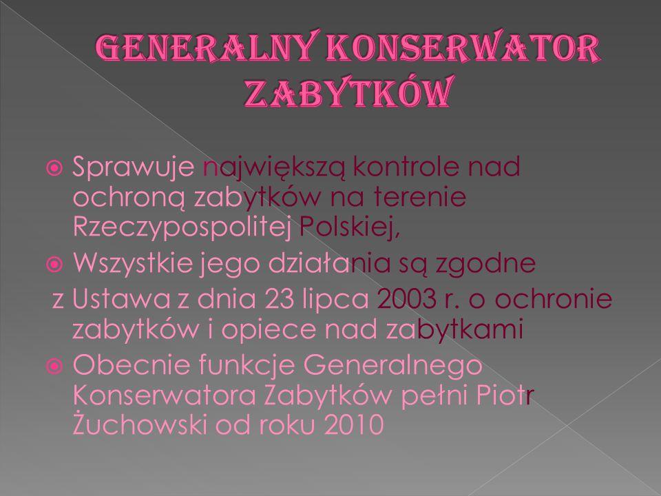 Generalny Konserwator Zabytków