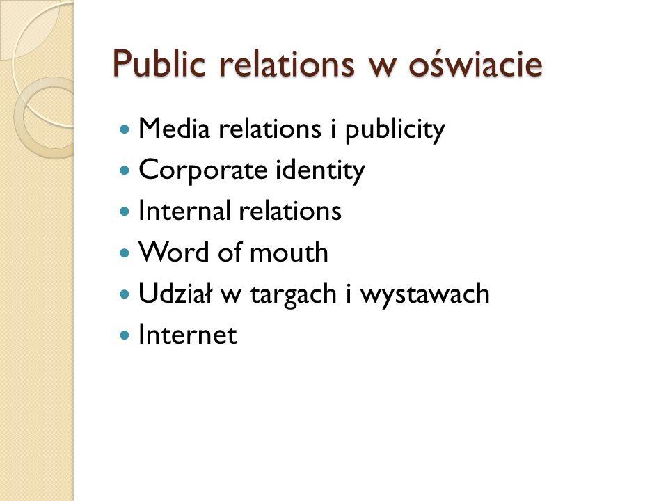 Public relations w oświacie