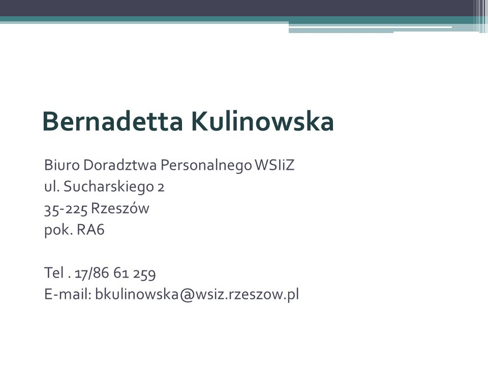 Bernadetta Kulinowska