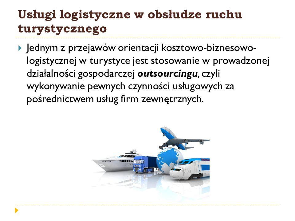 Usługi logistyczne w obsłudze ruchu turystycznego