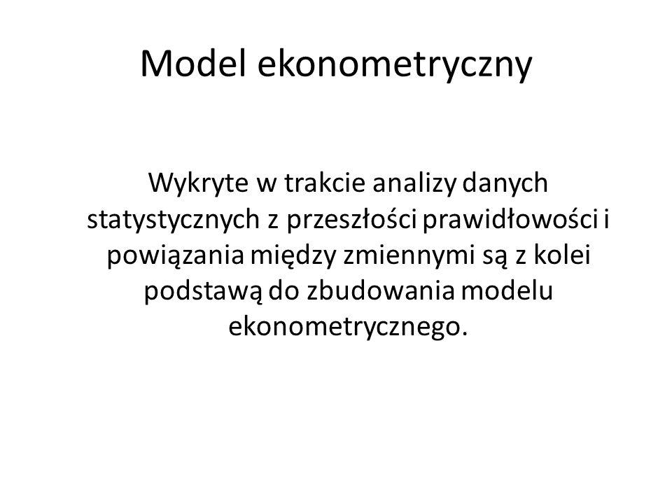Model ekonometryczny