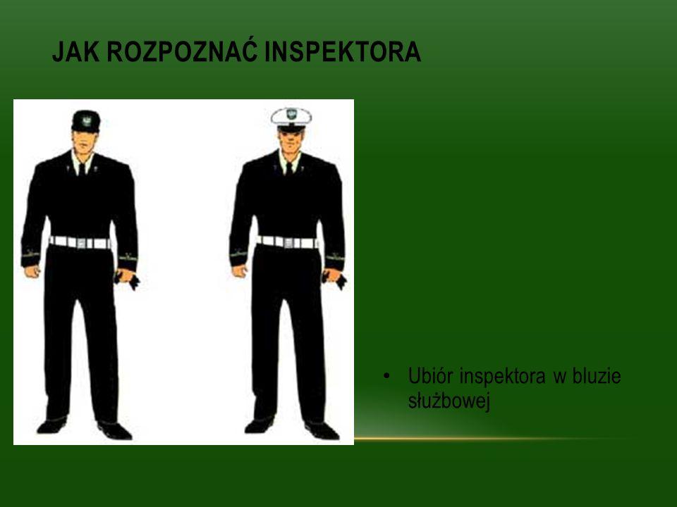 Jak rozpoznać Inspektora