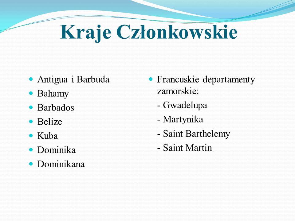 Kraje Członkowskie Antigua i Barbuda Bahamy Barbados Belize Kuba