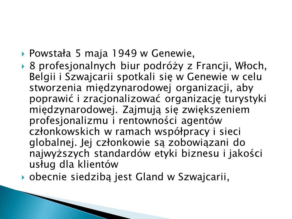 Powstała 5 maja 1949 w Genewie,