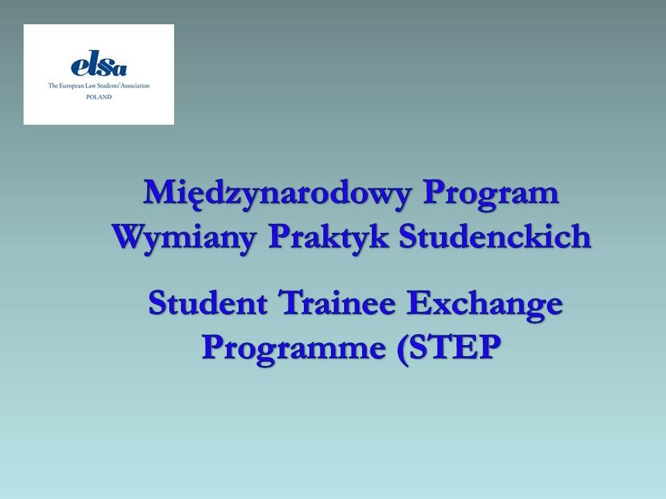 Międzynarodowy Program Wymiany Praktyk Studenckich