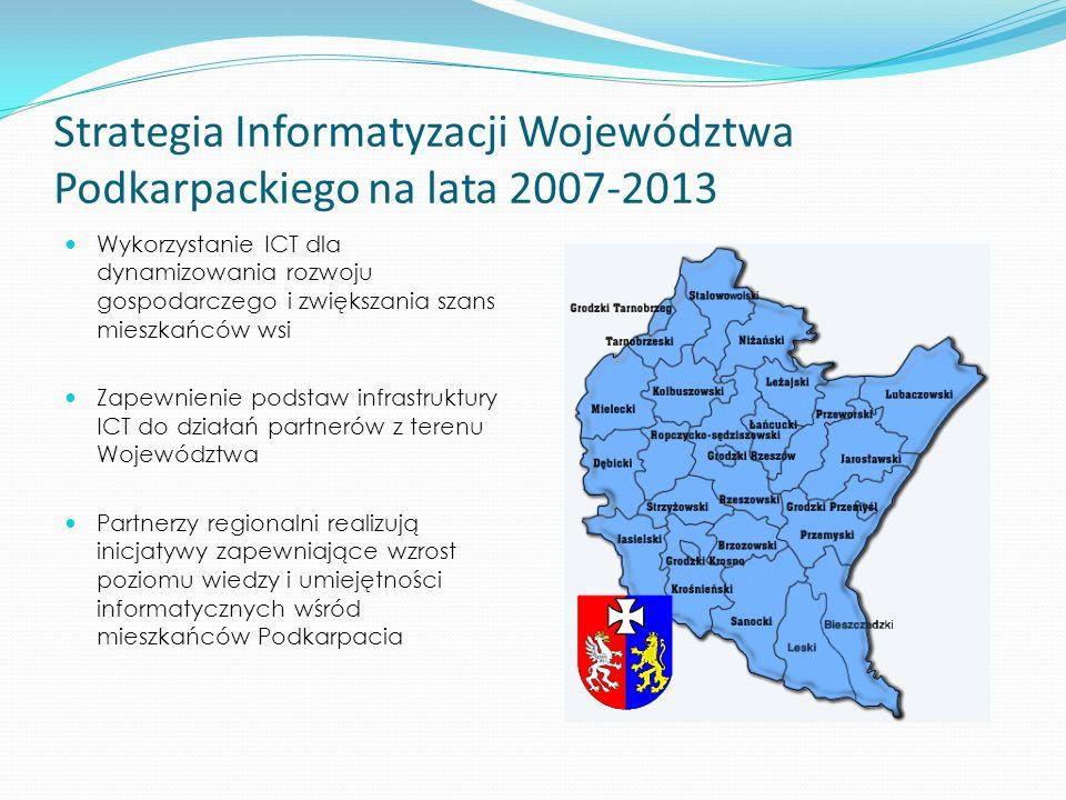 Strategia Informatyzacji Województwa Podkarpackiego na lata 2007-2013