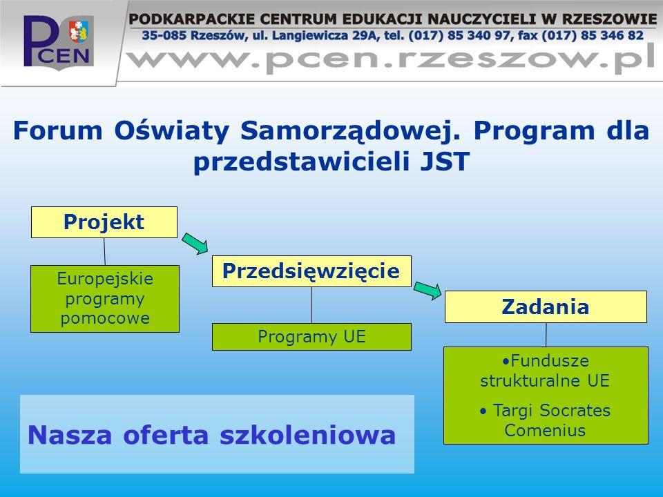 Forum Oświaty Samorządowej. Program dla przedstawicieli JST