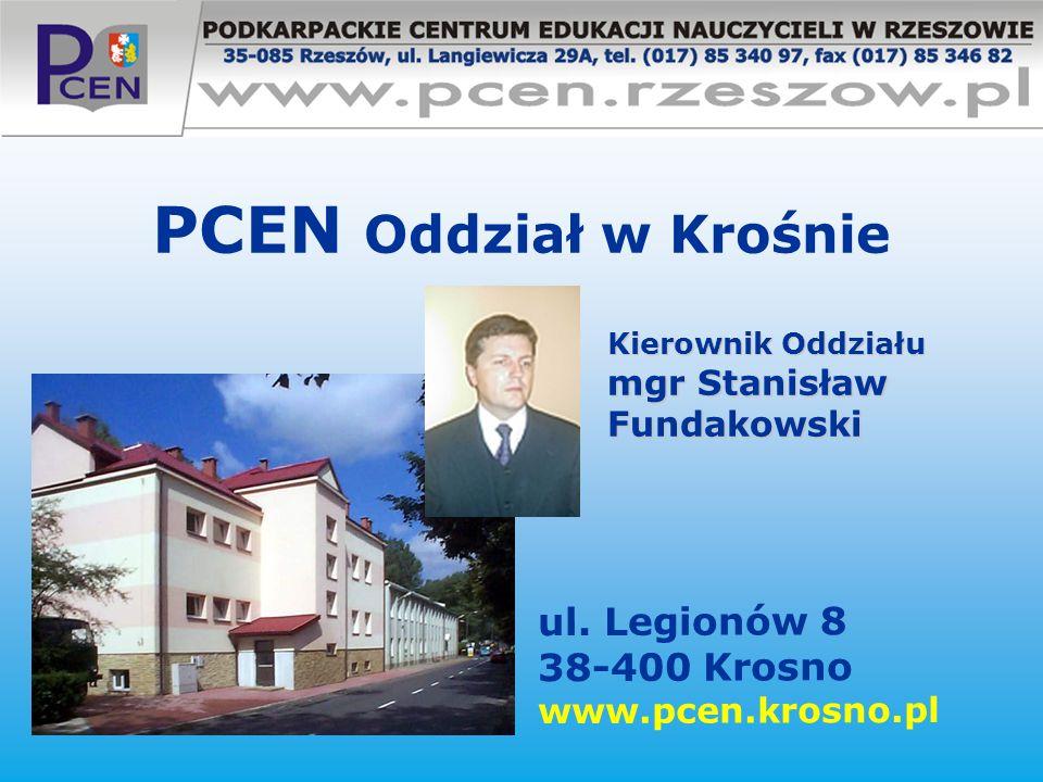 PCEN Oddział w Krośnie ul. Legionów 8 38-400 Krosno www.pcen.krosno.pl