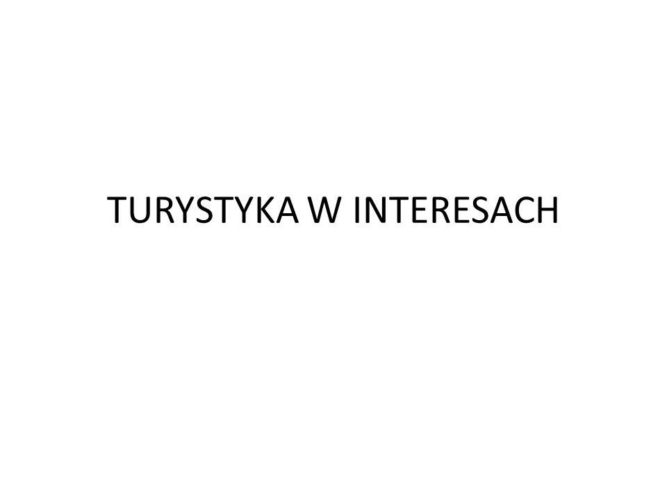 TURYSTYKA W INTERESACH