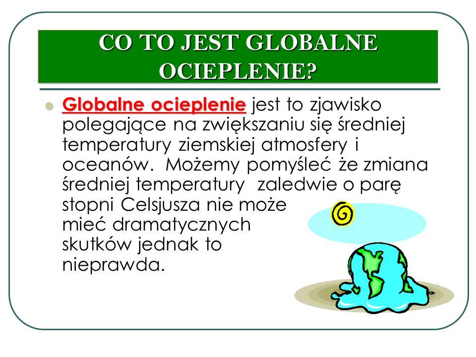 CO TO JEST GLOBALNE OCIEPLENIE