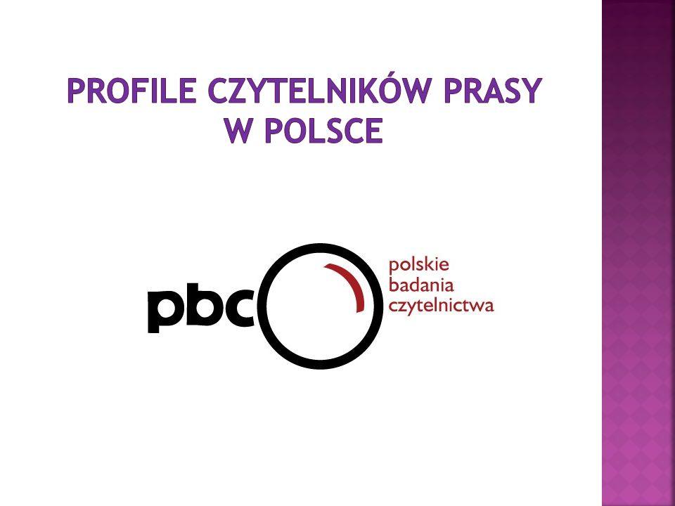 PROFILE CZYTELNIKÓW PRASY W POLSCE
