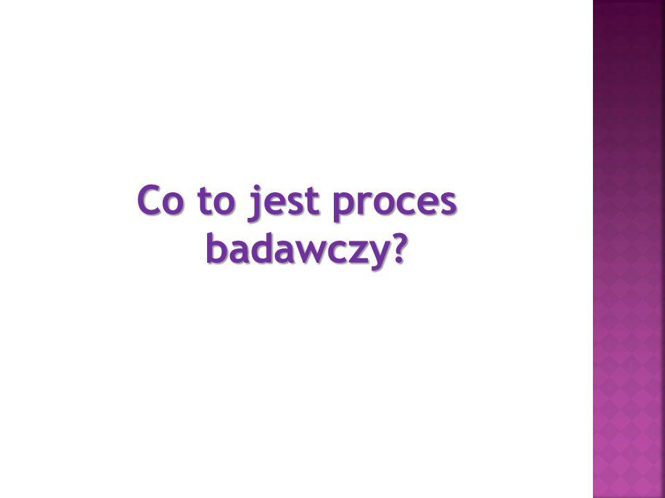 Co to jest proces badawczy
