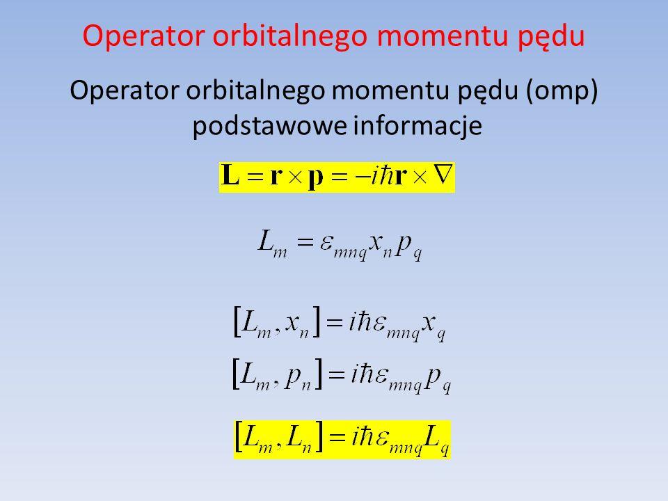 Operator orbitalnego momentu pędu