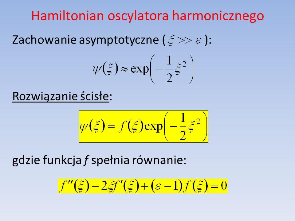 Hamiltonian oscylatora harmonicznego
