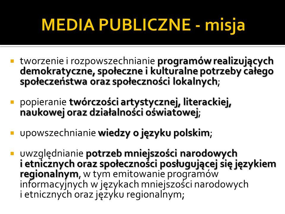 MEDIA PUBLICZNE - misja