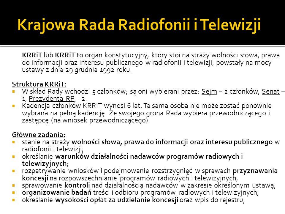 Krajowa Rada Radiofonii i Telewizji