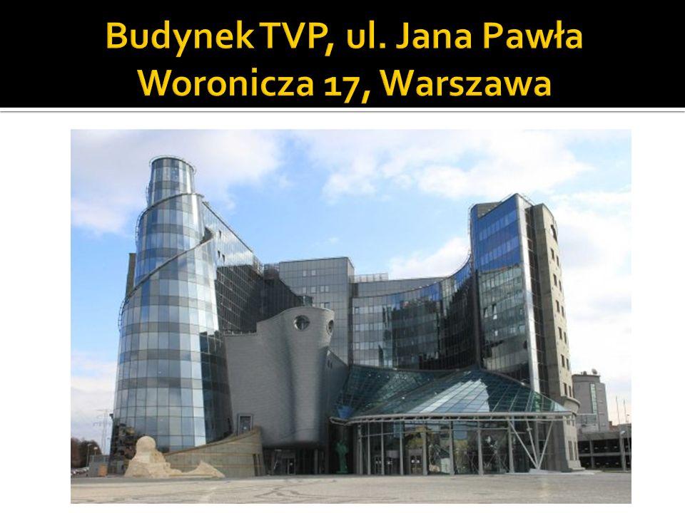 Budynek TVP, ul. Jana Pawła Woronicza 17, Warszawa