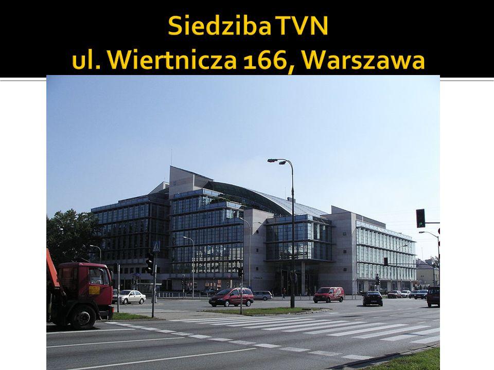 Siedziba TVN ul. Wiertnicza 166, Warszawa