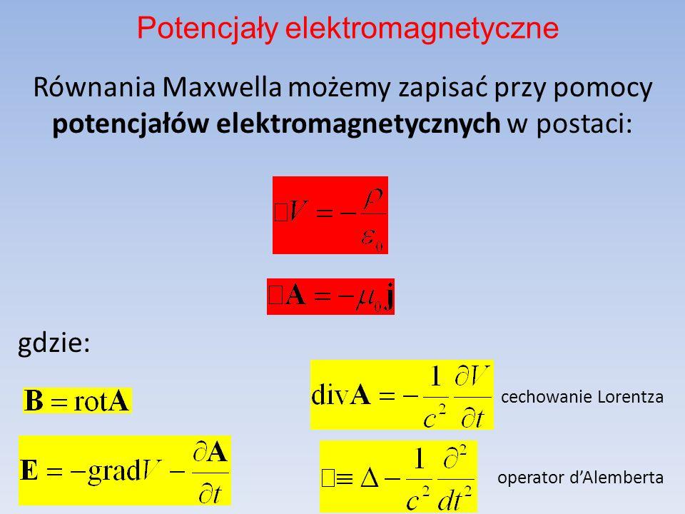 Potencjały elektromagnetyczne