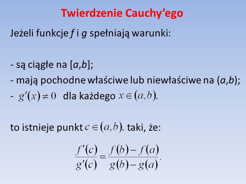 Twierdzenie Cauchy'ego