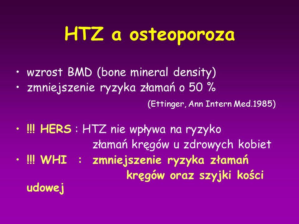 HTZ a osteoporoza wzrost BMD (bone mineral density)
