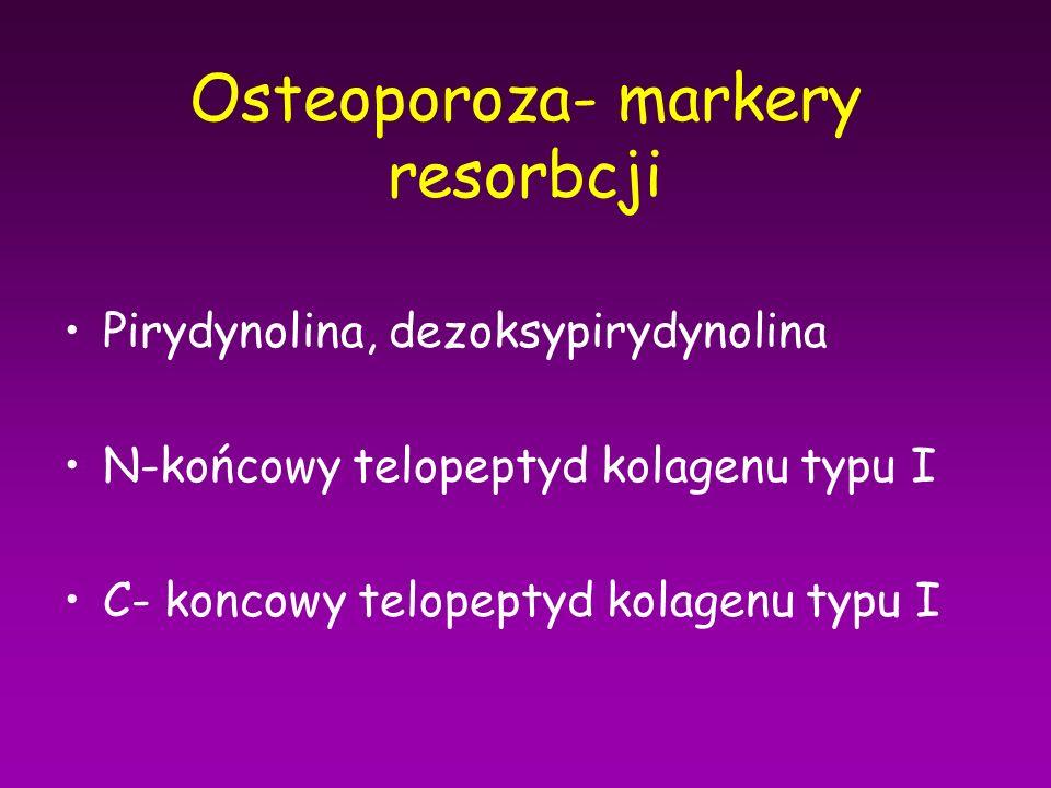 Osteoporoza- markery resorbcji