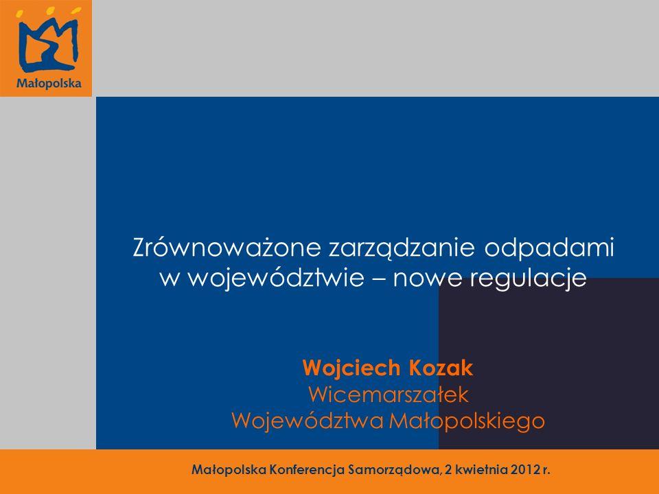 Małopolska Konferencja Samorządowa, 2 kwietnia 2012 r.
