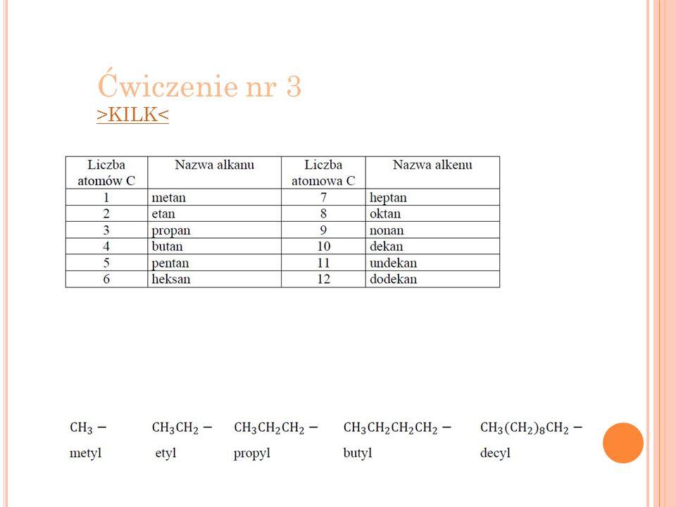 Ćwiczenie nr 3 >KILK<