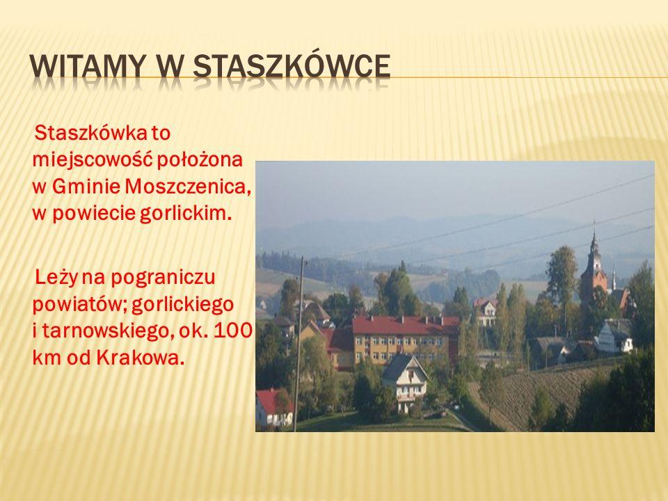 Witamy w Staszkówce Staszkówka to miejscowość położona w Gminie Moszczenica, w powiecie gorlickim.