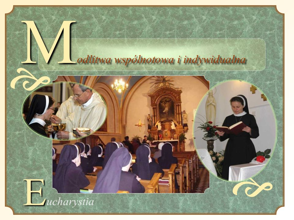 Modlitwa wspólnotowa i indywidualna