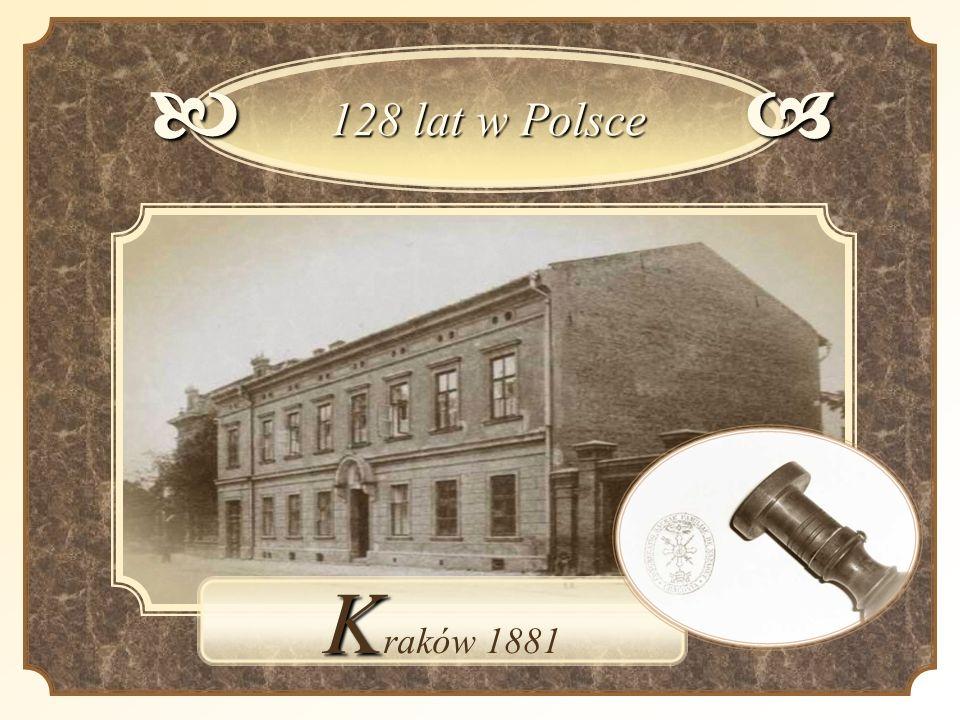 b 128 lat w Polsce a Kraków 1881