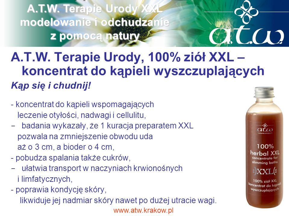 A.T.W. Terapie Urody XXL modelowanie i odchudzanie z pomocą natury
