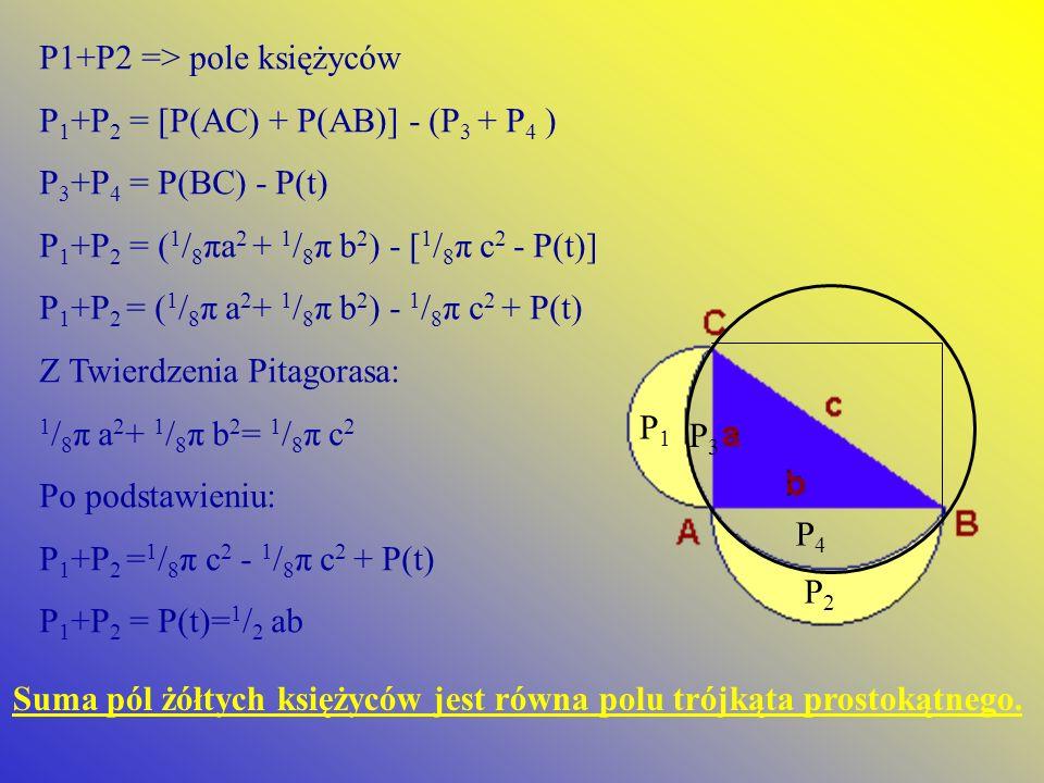 P1+P2 => pole księżyców
