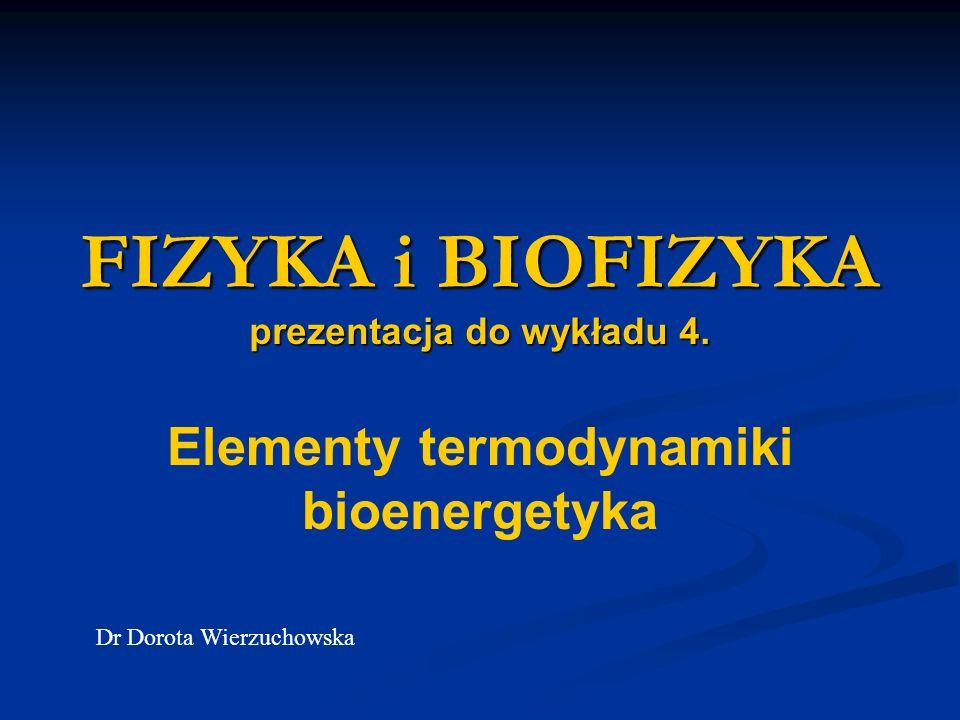 FIZYKA i BIOFIZYKA prezentacja do wykładu 4.