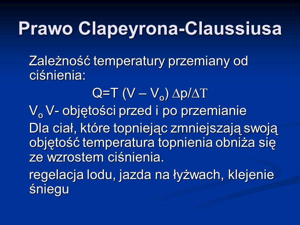 Prawo Clapeyrona-Claussiusa