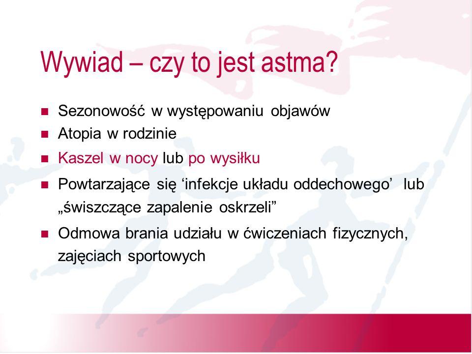 Wywiad – czy to jest astma