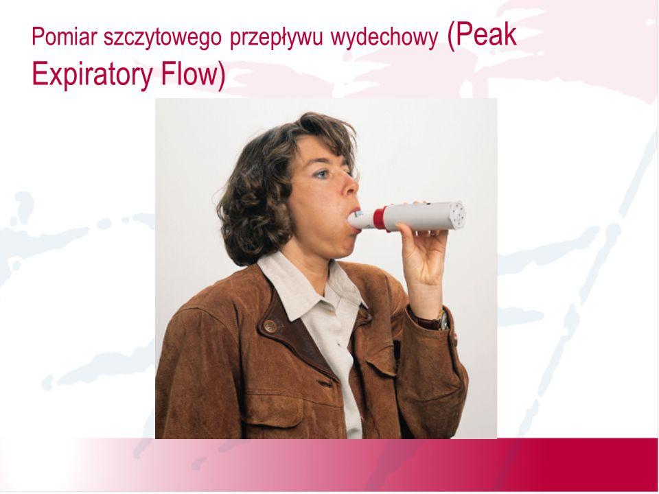 Pomiar szczytowego przepływu wydechowy (Peak Expiratory Flow)