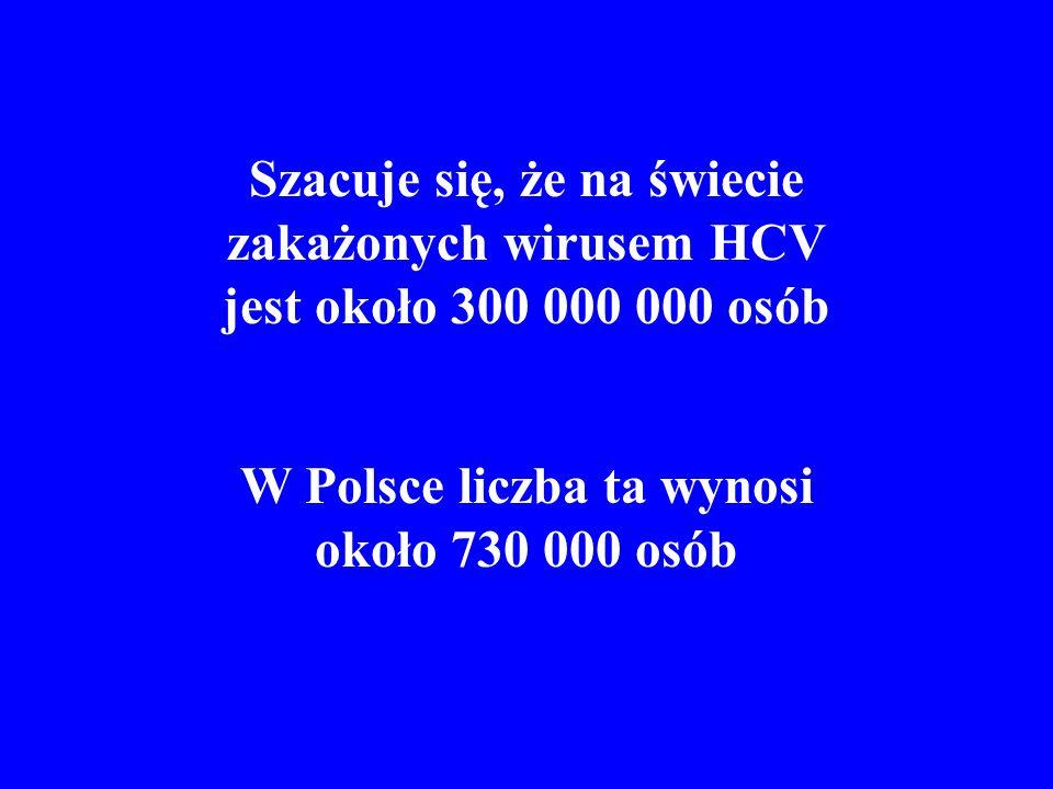 W Polsce liczba ta wynosi około 730 000 osób