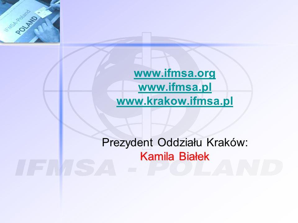 Prezydent Oddziału Kraków: