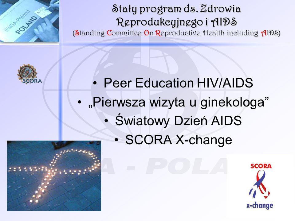 """Peer Education HIV/AIDS """"Pierwsza wizyta u ginekologa"""