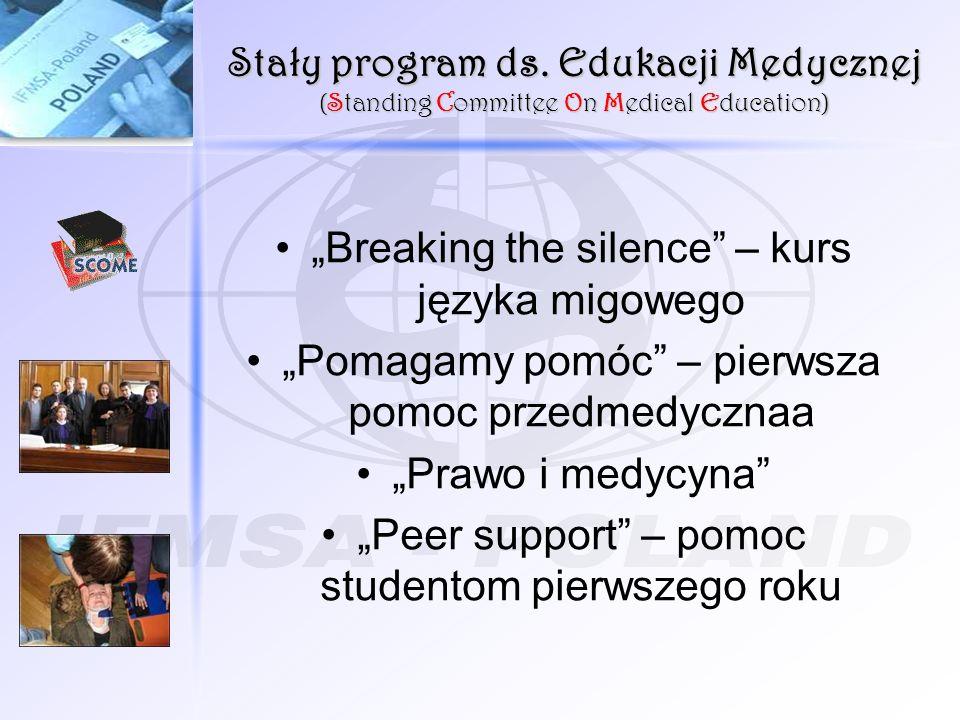 """""""Breaking the silence – kurs języka migowego"""