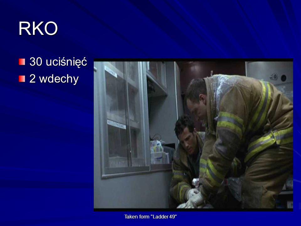 RKO 30 uciśnięć 2 wdechy Taken form Ladder 49