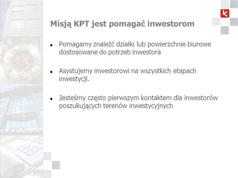 Misją KPT jest pomagać inwestorom