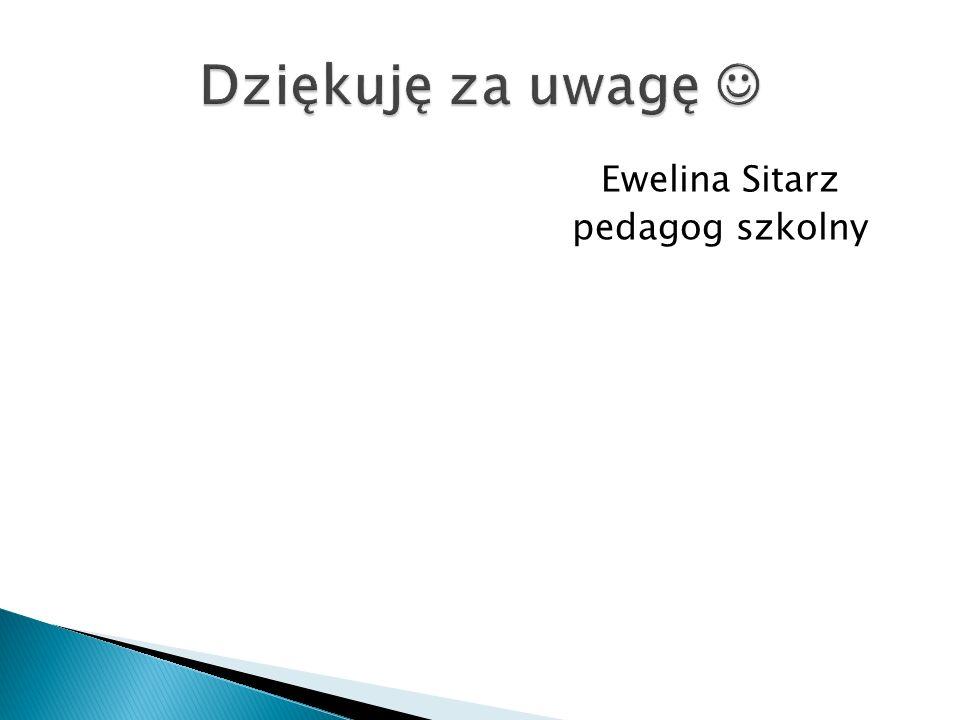 Ewelina Sitarz pedagog szkolny