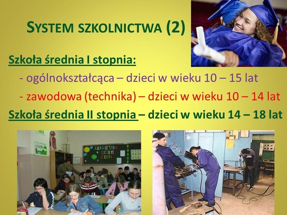 System szkolnictwa (2)
