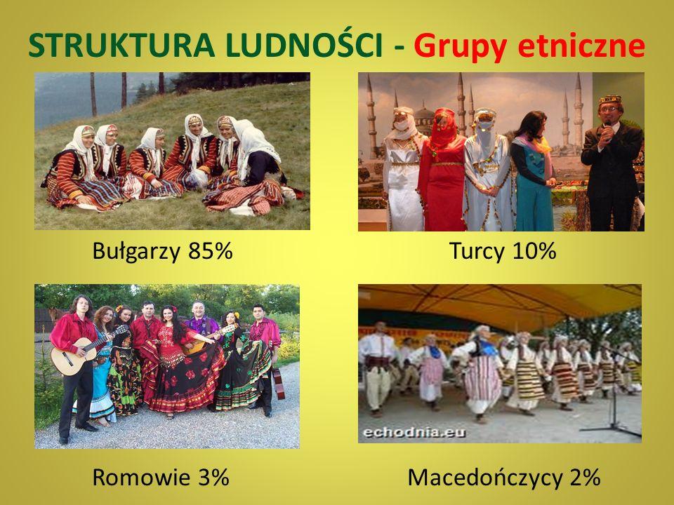 STRUKTURA LUDNOŚCI - Grupy etniczne