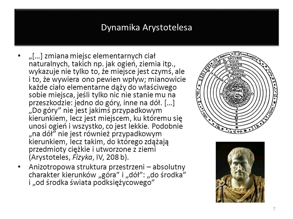 Dynamika Arystotelesa